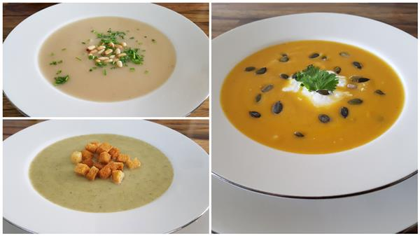 Easy Creamy Soup Recipes - 3 Delicious Ways