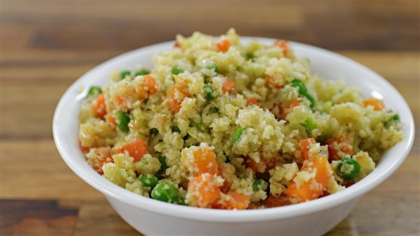 Easy and Healthy Cauliflower Fried Rice Recipe