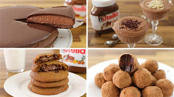dessert recipes nutella 1 Easy Nutella Dessert Recipes
