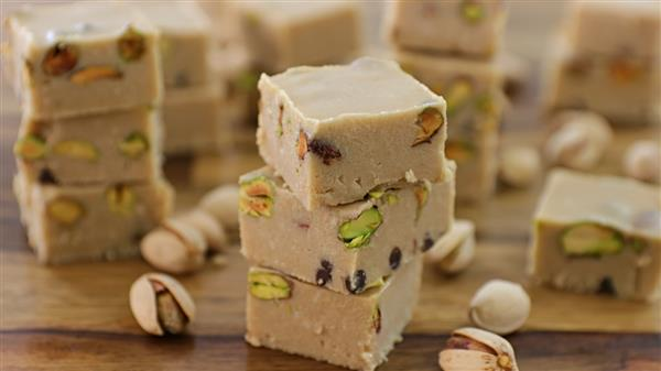 Vegan Tahini Fudge Recipe