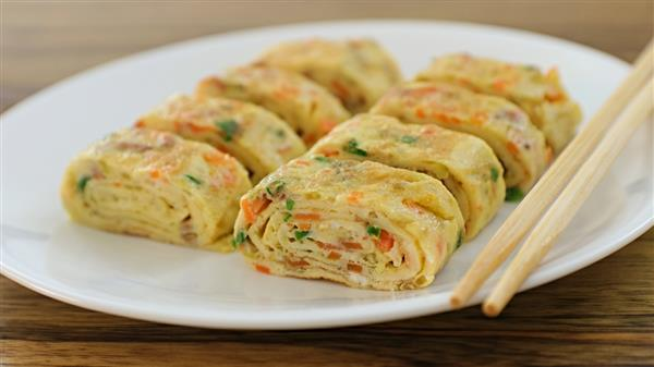 Rolled Omelette Recipe