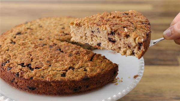Healthy Banana Oatmeal Cake Recipe