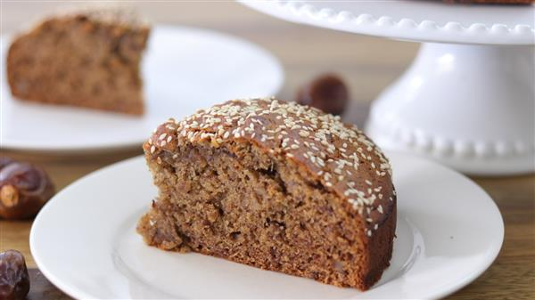 Tahini and Date Cake Recipe