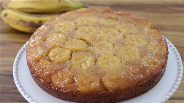 Upside-Down Banana Cake Recipe