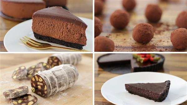 5 Easy No-Bake Chocolate Dessert Recipes