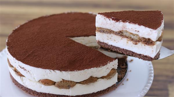 No-Bake Tiramisu Cheesecake Recipe