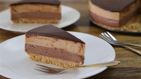 No-Bake Nutella-Peanut Butter Cheesecake Recipe