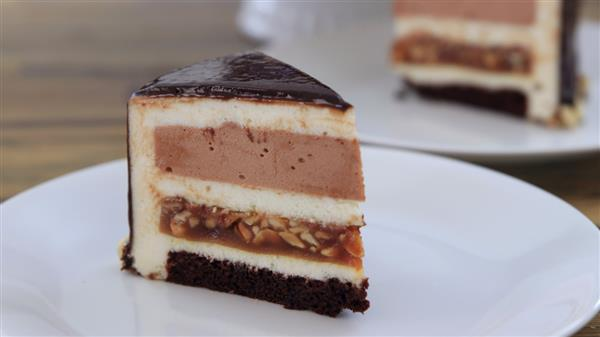 Snickers Mousse Cake Recipe