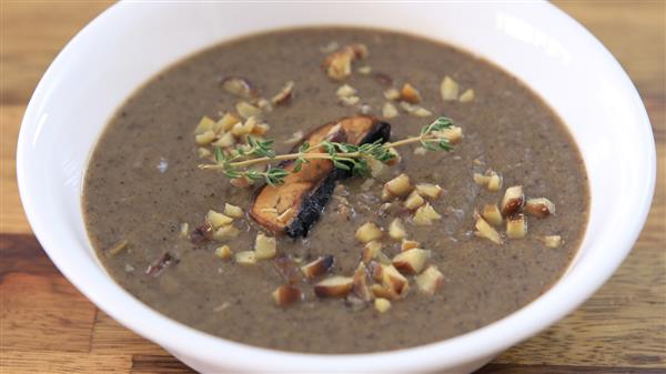 Mushroom and Chestnut Soup Recipe
