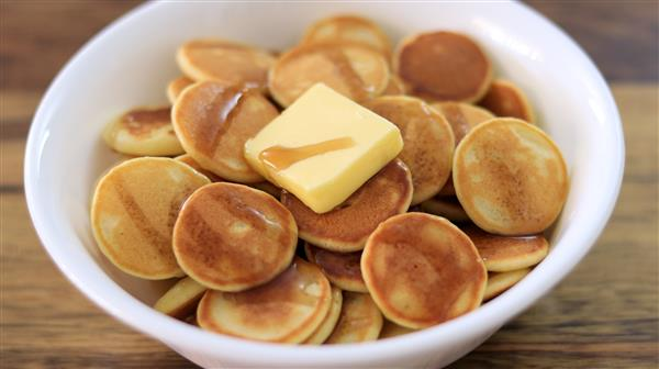 Mini Pancakes Recipe (Pancake Cereal)