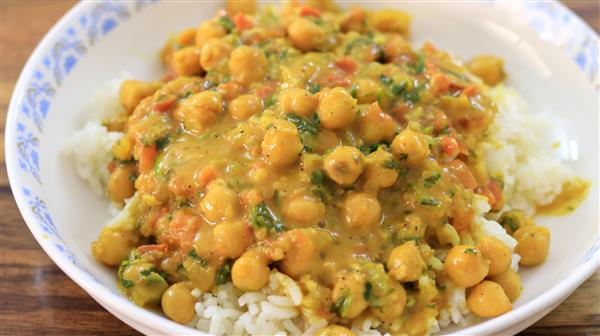 Quick and Easy Chickpea Curry Recipe