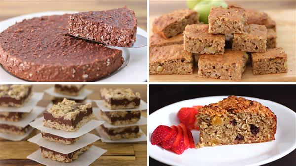 4 Healthy Oatmeal Dessert Recipes