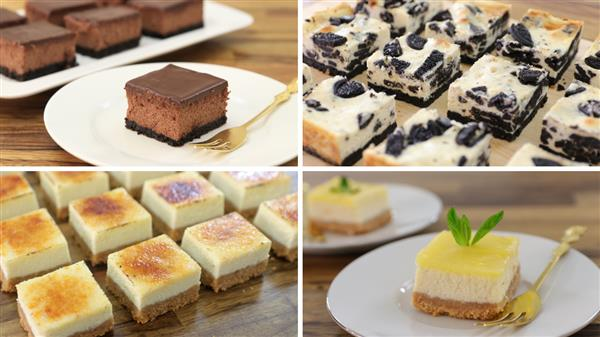 4 Easy Cheesecake Bars Recipes