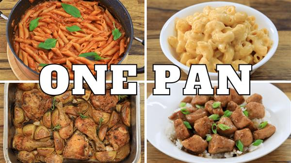 4 Easy One Pan Recipes