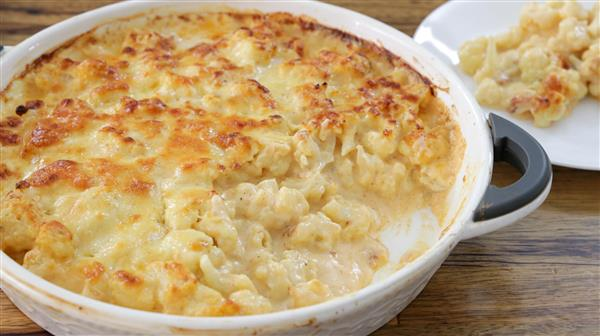 Cheesy Cauliflower Bake Recipe (Cauliflower Cheese)