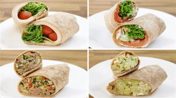 4 Healthy Wrap Recipes