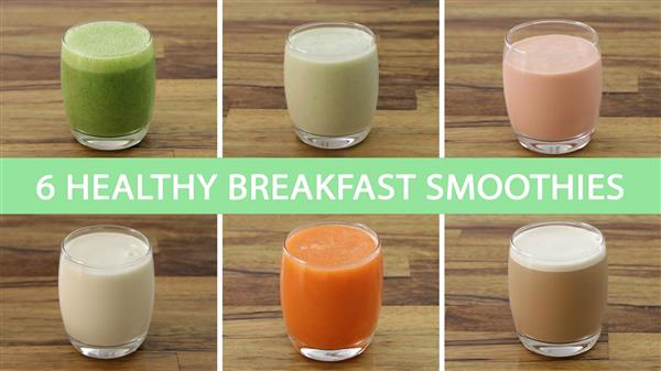 6 Quick and Easy Healthy Shakes & Smoothies