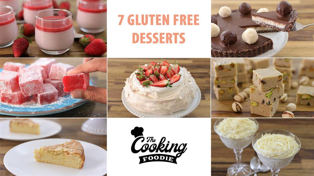 7 Gluten Free Dessert Recipes